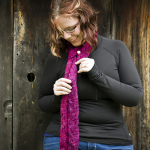 Clever Thing Scarf - On Model